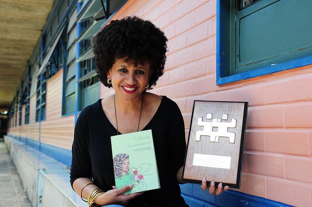 Gina Vieira, do projeto Mulheres Inspiradoras (Foto: Dênio Simões/Agência Brasília).