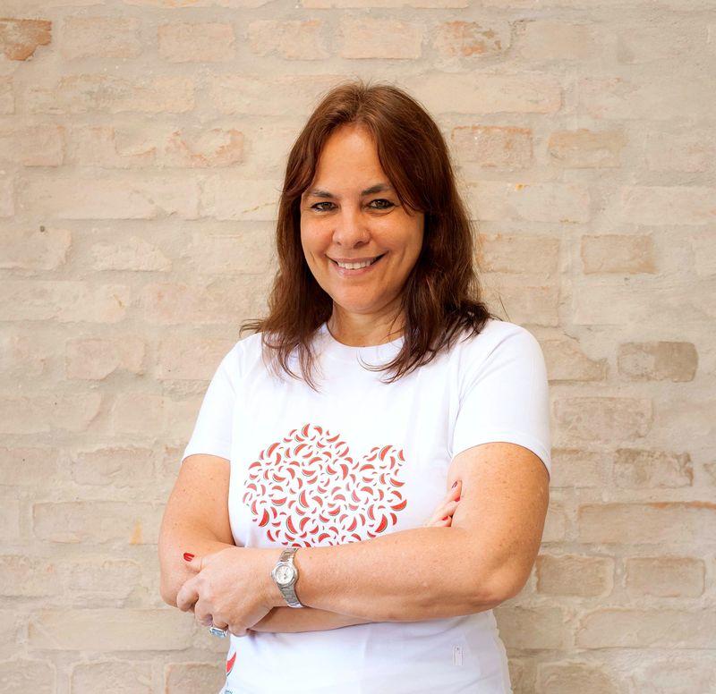 Luciana Quintão, do Banco de Alimentos (Foto: Printec Comunicação)
